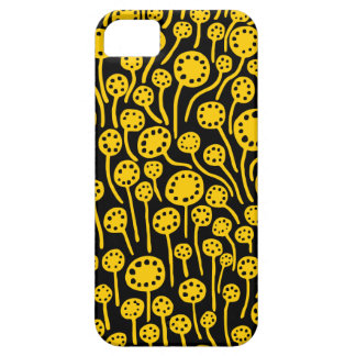 090512 Amber on Black Barely There iPhone 5 Case