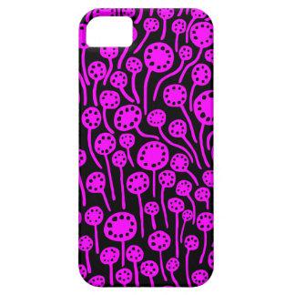 090512 Magenta on Black iPhone 5 Cases