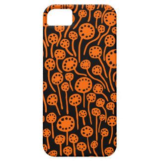 090512 Orange on Black iPhone 5 Covers