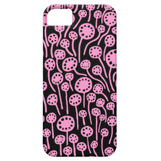 090512 Pink on Black Case For The iPhone 5