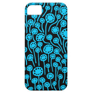 090512 Sky Blue on Black iPhone 5 Covers