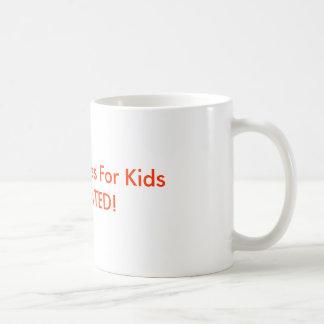 1000 Candles For KidsI DONATED! Basic White Mug