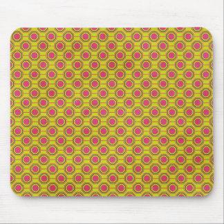 1161_geometric-05 GREENISH YELLOW   CLOUDY ABSTRAC Mouse Pad