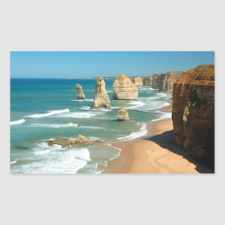 12 apostles rectangular sticker