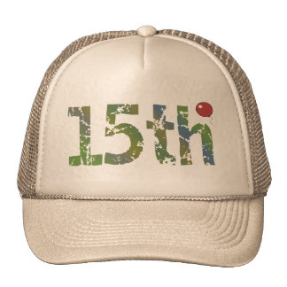 15th Birthday Balloon Gifts Cap