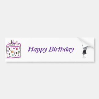 16 candles on my cake bumper sticker