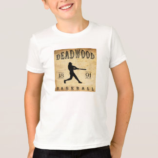 1891 Deadwood South Dakota Baseball Shirt
