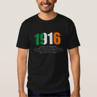 1916 Easter Rising and Proclamation Commemoration Tee Shirt