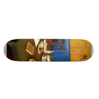 19th Century Lawyer's Office Skate Board Deck