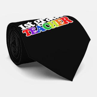 1st grade teacher tie