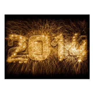 2014 - Happy New Year! Postcard