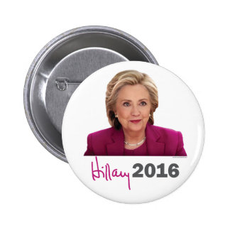2016 Hillary Clinton for President - Signature 6 Cm Round Badge