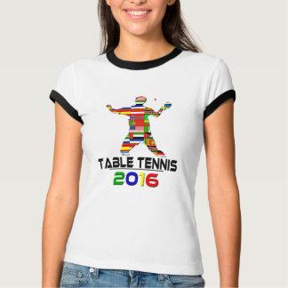 2016:Table Tennis Shirts