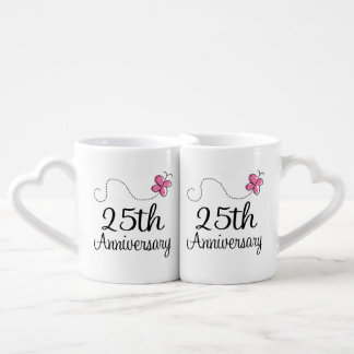 25th Anniversary Couples Mugs Lovers Mug Sets