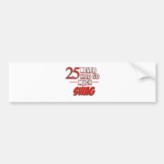25th year anniversary bumper sticker