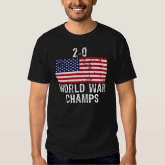 2-0 WORLD WAR CHAMPS TEE SHIRT