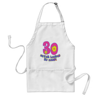 30 Never Looked So Good! Standard Apron
