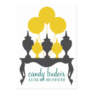 311 Candy Budoir Yellow Gray Pack Of Chubby Business Cards