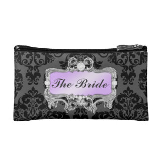 311 Glam Crazy Bride Lilac or DIY Clutch Makeup Bag