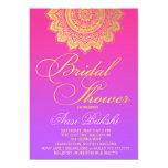 311 Henna Pink Purple Ombre 13 Cm X 18 Cm Invitation Card