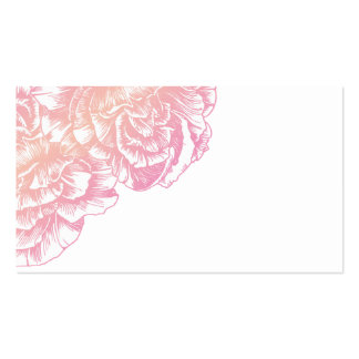 311 Le Plush Fleur Creamy Pink Place Card Pack Of Standard Business Cards