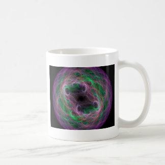 31 1 fractal basic white mug