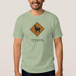 320px-Road_sign_llama.svg, TINA T-shirts