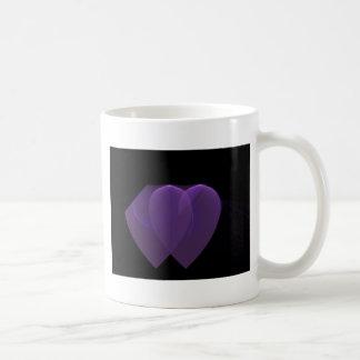 34 1 fractal basic white mug