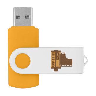 35mm Film Roll Storage Swivel USB 2.0 Flash Drive