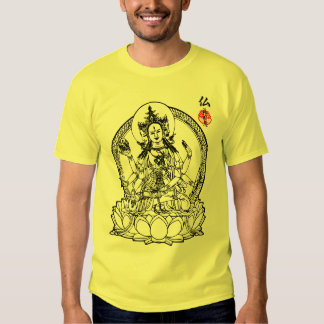 3 Faces of Buddha T Shirt