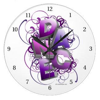 3D Dance (summer) Clock