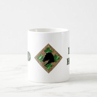 4th Infantry Division Iron Horse Basic White Mug