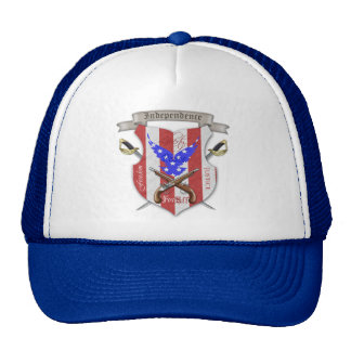 4th of July Freedom Crest Blue Hat