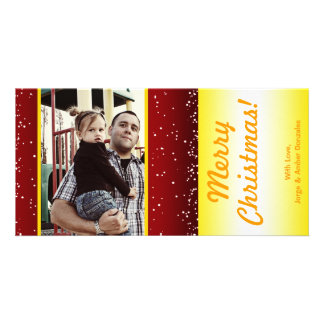 4x8 Candle Night Christmas PHOTO Card