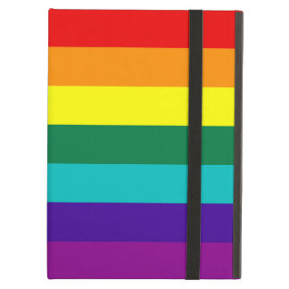 7 Stripes Rainbow Pride Flag Case For iPad Air