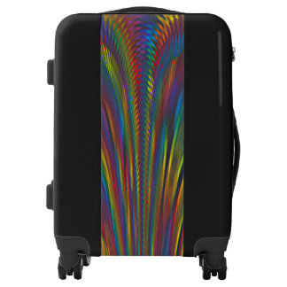 A Colorful Eruption Luggage