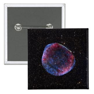 A composite image of the SN 1006 supernova remn 15 Cm Square Badge