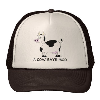 A Cow Says Moo Cap