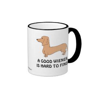A Good/Hard Wiener is Hard/Good to Find Mug L.H.