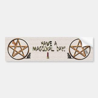 A Magical Day Bumper Sticker