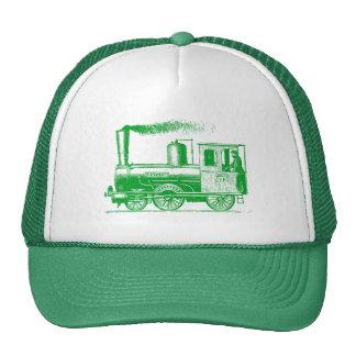A Man and His Train - Grass Green Cap