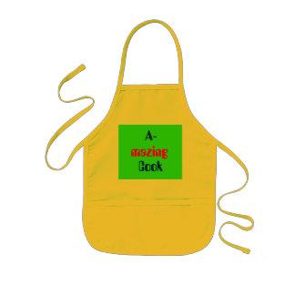 A-, mazing, Cook Kids Apron