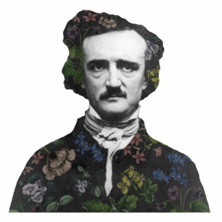 A Posy of Poe Photo Sculpture Decoration