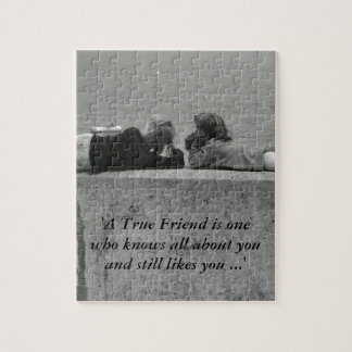 A True Friend Jigsaw Puzzles