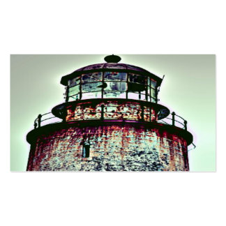 Abandoned Lighthouse Pack Of Standard Business Cards