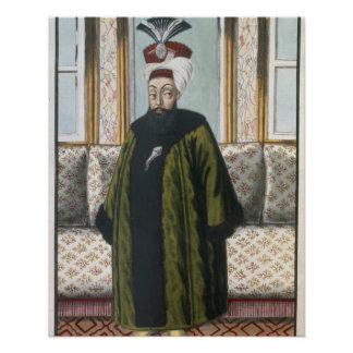 Abdul Hamid I (1725-89) Sultan 1774-89, from 'A Se Poster