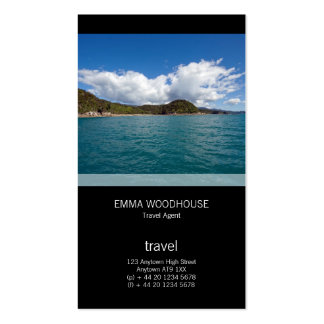 Abel Tasman N.P. Shoreline Pack Of Standard Business Cards