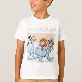 Abominable snowmen of Wisconsin Tshirt