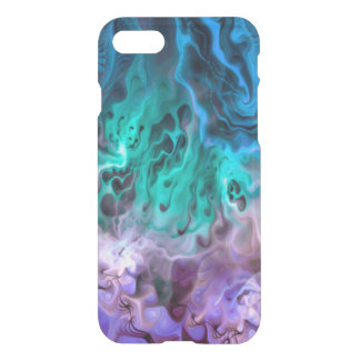 Abstract Apophysis Fractal I + your idea iPhone 7 Case
