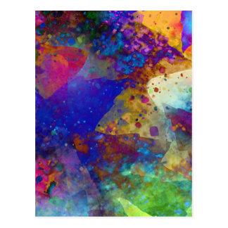 Abstract Art Cool Postcard